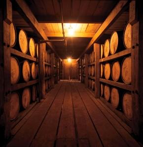 Bourbon Barrels Aging
